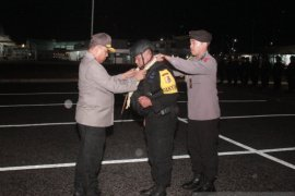 Brimob Kalsel BKO Papua akhiri tugas