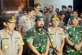 Panglima instruksikan Polri-TNI beri pelayanan humanis Tahun Baru