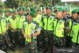 500 personel TNI Kodim 0621 amankan titik-titik rawan di Kabupaten Bogor