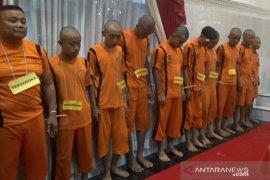 Jelang pergantian tahun Polisi Sukabumi tangkap 10 pelaku kriminal