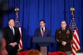 Berita dunia - Pentagon: Tak ada bukti spesifik Iran akan serang empat kedubes AS