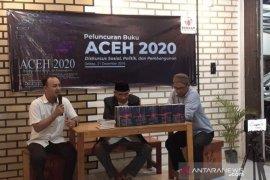 Masyarkat luncurkan buku Aceh buku 2020, pedoman kebijakan