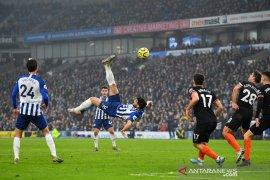 Gol spektakuler Brighton buat hasil imbang dengan Chelsea