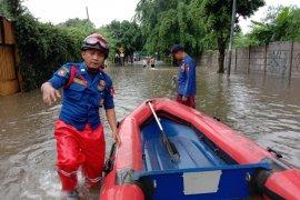 Sebagian wilayah Jabodetabek dilanda banjir pada awal tahun 2020