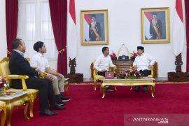 Awali 2020, Jokowi terima Menhan di Yogyakarta