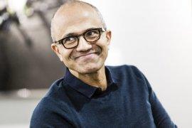 Satya Nadella Microsoft terpukau rancangan ibu kota baru Indonesia di Kaltim