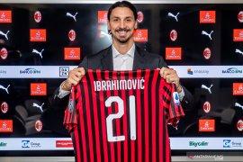 Kembali ke Milan, Ibrahimovic kenakan nomor 21
