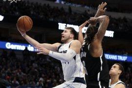 Doncic pimpin Mavericks kalahkan Nets