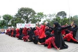 Tarian budaya meriahkan peringatan Hari Amal Bhakti di Pematangsiantar