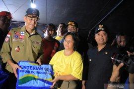 Korban banjir Komplek Ciledug Indah terima bantuan dari Kemensos