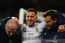 Berita dunia - Zidane konfirmasi Hazard absen di Piala Super Spanyol