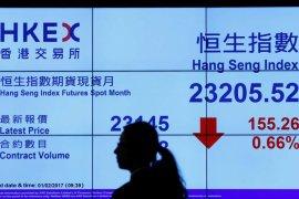 Saham Hong Kong jatuh hari ketiga