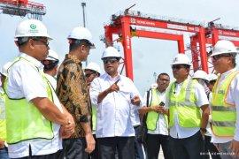 Menhub berikan solusi untuk dukung pengembangan pelabuhan Kuala Tanjung
