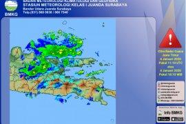 BMKG: Cuaca ekstrem melanda Jatim sepekan ke depan