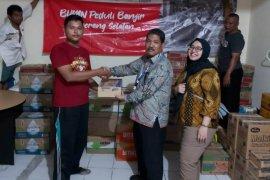 Hutama Karya salurkan bantuan bagi korban banjir di Tangsel