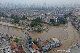 Anies evaluasi penanganan banjir Jakarta
