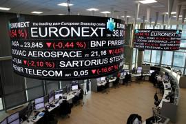 """Saham Prancis """"rebound"""", indeks CAC 40 bangkit 1,49 persen"""