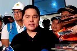 Menteri Erick enggan sebut nominal bantuan banjir BUMN