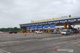 54.837 kendaraan lintasi GT Cikampek Utama arah Jakarta pada puncak arus balik Tahun Baru