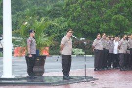 Sebelum berpindah ke Polda NTB, Kapolda Banten pimpin apel terakhir