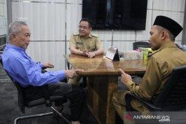 Jalin Silaturrahmi, Bupati HST terima kunjungan Wabup Balangan