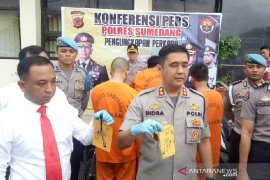 Polisi tangkap komplotan spesialis curanmor di Sumedang