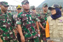 Pasca banjir Pangdam III/ Siliwangi kunjungi Lebak