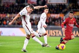 Roma kalah 0-2 atas Torino di kandang