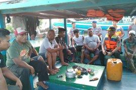 Kapolres Bangka lakukan patroli di perairan laut Sungailiat