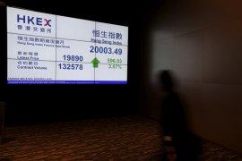 Saham Hong Kong turun lagi, indeks HSI tergerus 0,93 persen