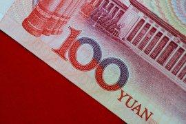 Yuan jatuh 257 basis poin