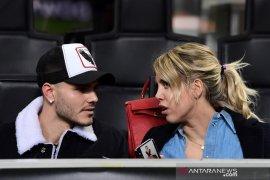 Istri Icardi sebut suaminya belum tentu permanen pindah ke PSG