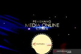 LKBN ANTARA terima penghargaan Adam Malik Award kategori media online terbaik