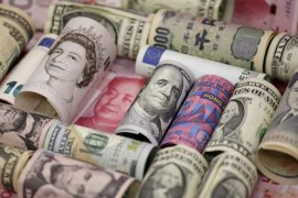 Gara-gara virus China, yuan melemah