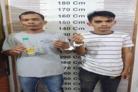 Pesta narkotika, dua warga Aceh ini ditangkap Polisi Besitang Langkat