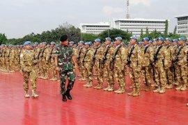 Kasum TNI sambut 1.289 Satgas Kontingen Garuda dari Lebanon