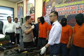 Putra Ayu Azhari ditangkap polisi tekait jual-beli senjata api