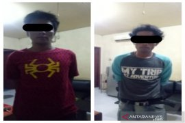 Polsek Banjarmasin Timur tangkap dua pencuri motor