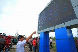 Enam papan informasi cuaca digital dipasang di pesisir Surabaya