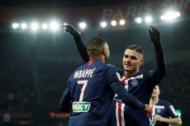 PSG pesta enam gol, dampingi Lyon dan Lille ke semifinal Liga Prancis