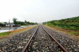 Pembangunan jalur KA Besitang Sumut - Langsa capai 83 persen