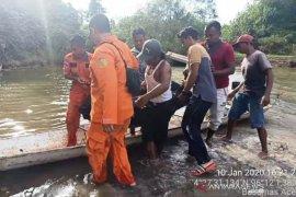 Sempat hilang, warga Aceh Barat ditemukan meninggal dunia diduga terseret arus sungai