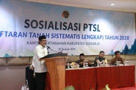 BPN Sidoarjo targetkan sertifikasi 60 ribu bidang tanah