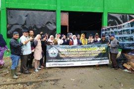 Ikatan Keluarga DPRD Banten bantu korban banjir di Lebak