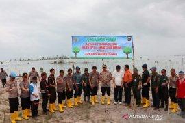 Kapolda Babel apresiasi inisiatif Kapolres Bangka tanam ribuan pohon