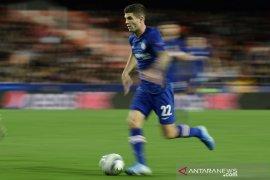 Liga Inggris - Pemain Chelsea Christian  Pulisic fit sepenuhnya setelah cedera otot