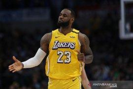 Ringkasan basket, NBA, Lakers lewati Mavericks demi tujuh kemenangan beruntun