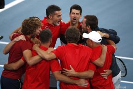 Serbia lolos ke final ATP Cup