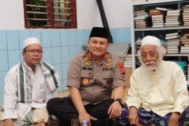 Kapolda Banten  temui tokoh ulama
