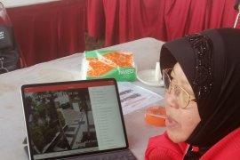 Di sela Rakernas PDIP, Risma awasi kantor dan pompa air di Surabaya